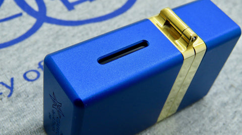 Gimmick by Athea Mods <br>Blue <br>Aluminium & Brass Mod Box