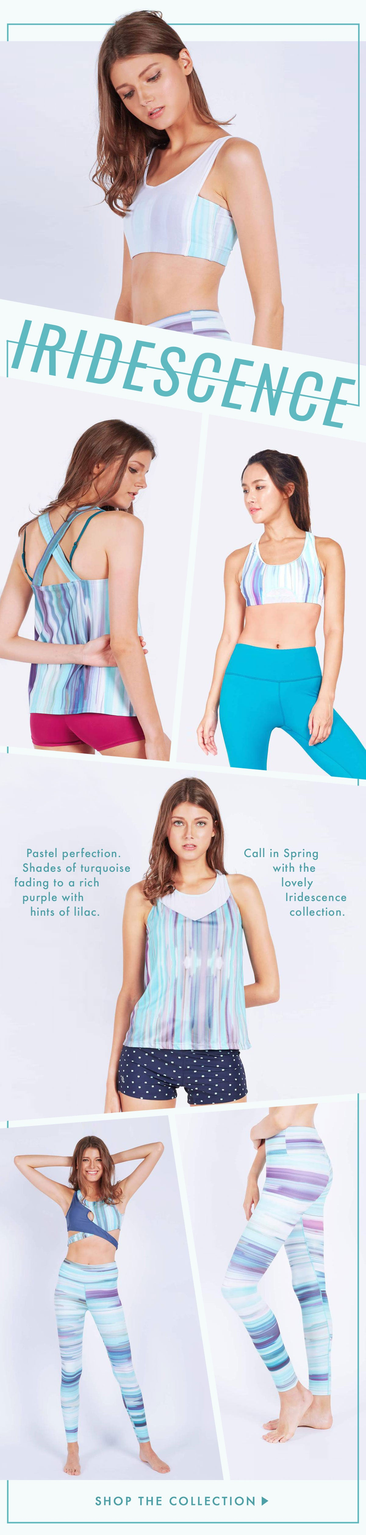 FUNFIT: The Iridescence collection