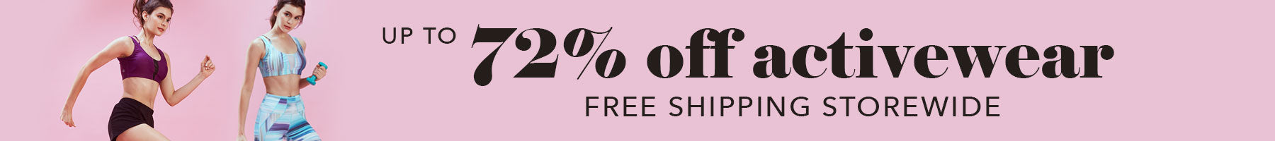 FUNFIT: <72% off all activewear + Free shipping