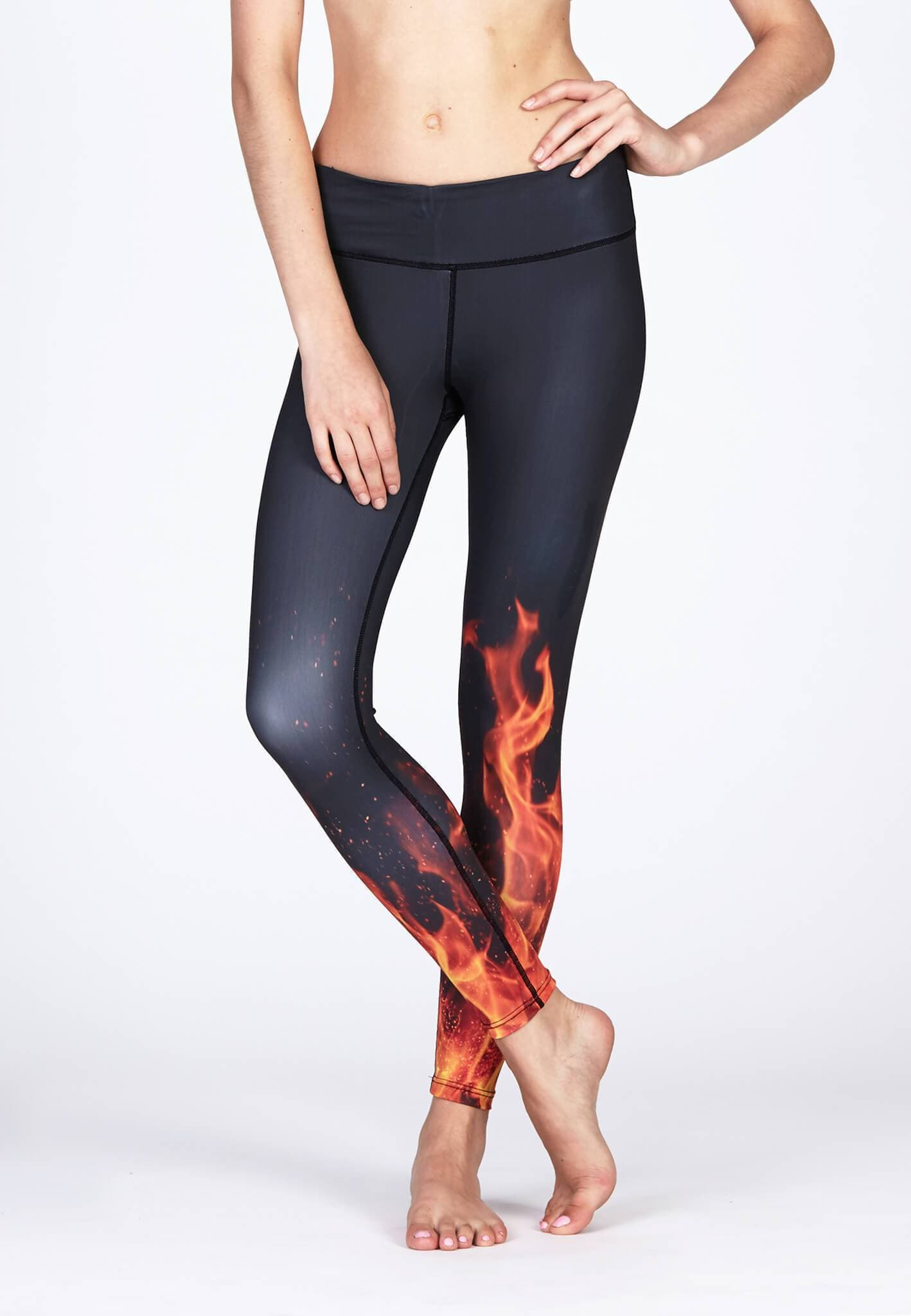 FUNFIT Movement Leggings in Blaze Print (S - XL)
