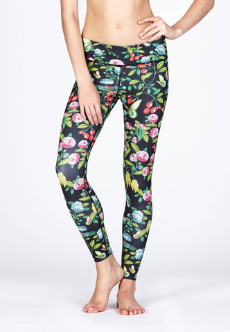 Movement Leggings in Botany Print-FUNFIT