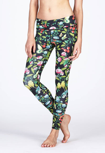 Movement Leggings in Botany Print - FUNFIT