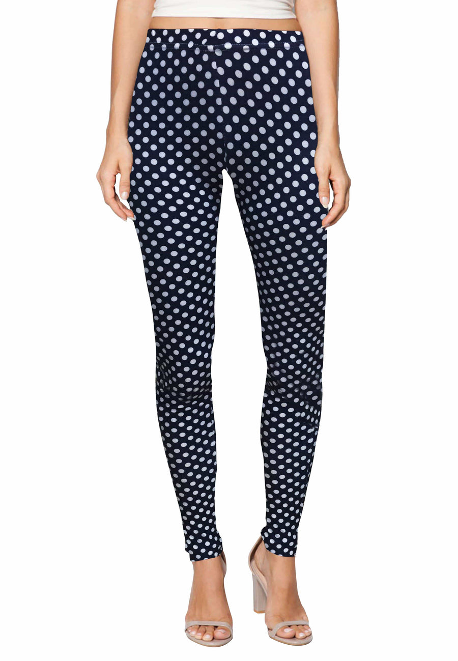 Stretch Leggings in Popova Print (Free Size) - FUNFIT