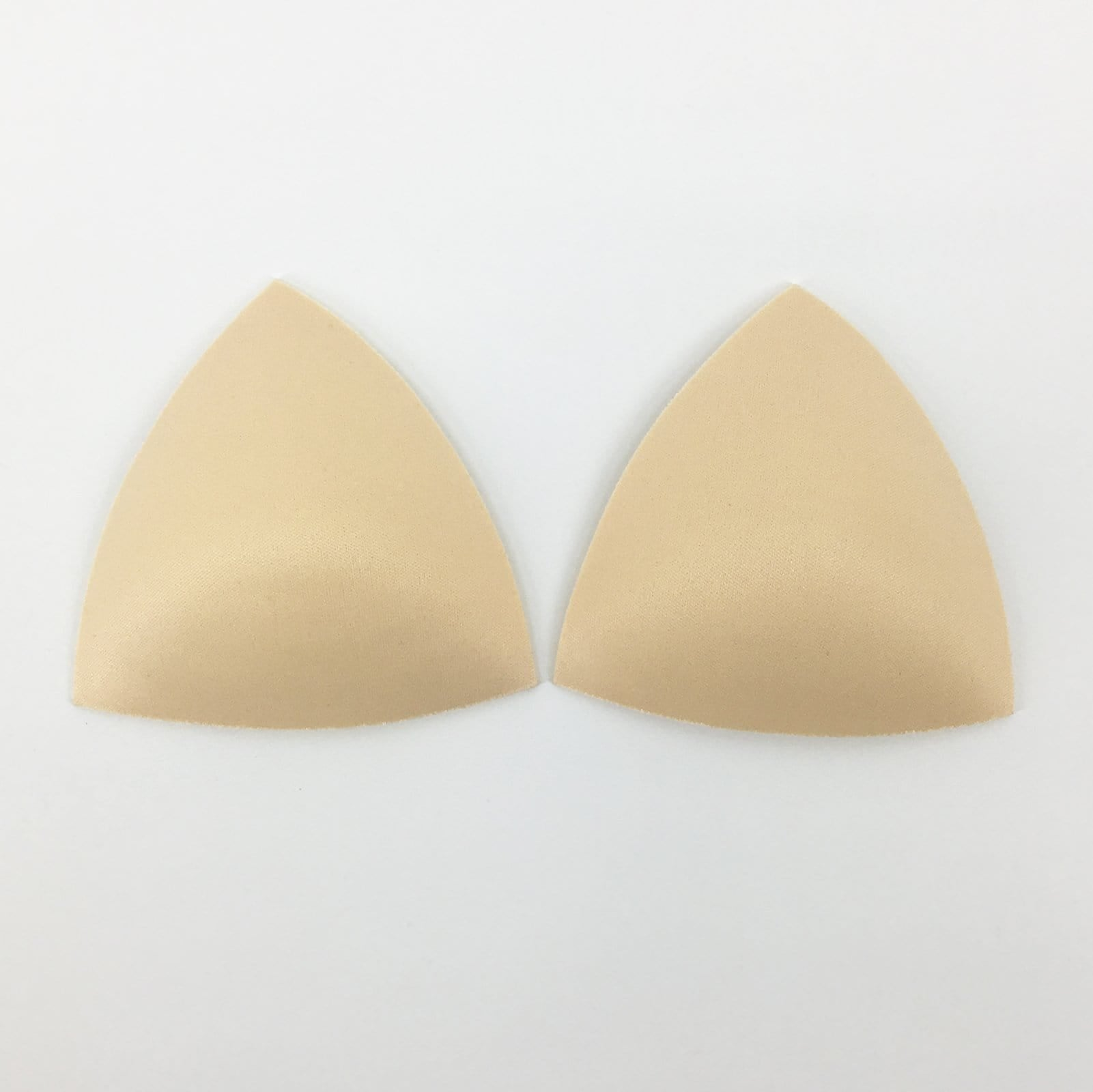 Triangle Push-Up Bra Padding Inserts In Nude - FUNFIT