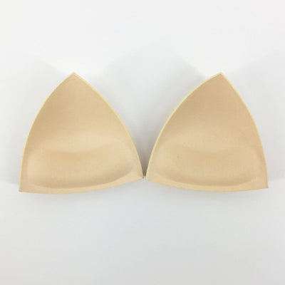 Triangle Push-Up Bra Padding Inserts In Nude