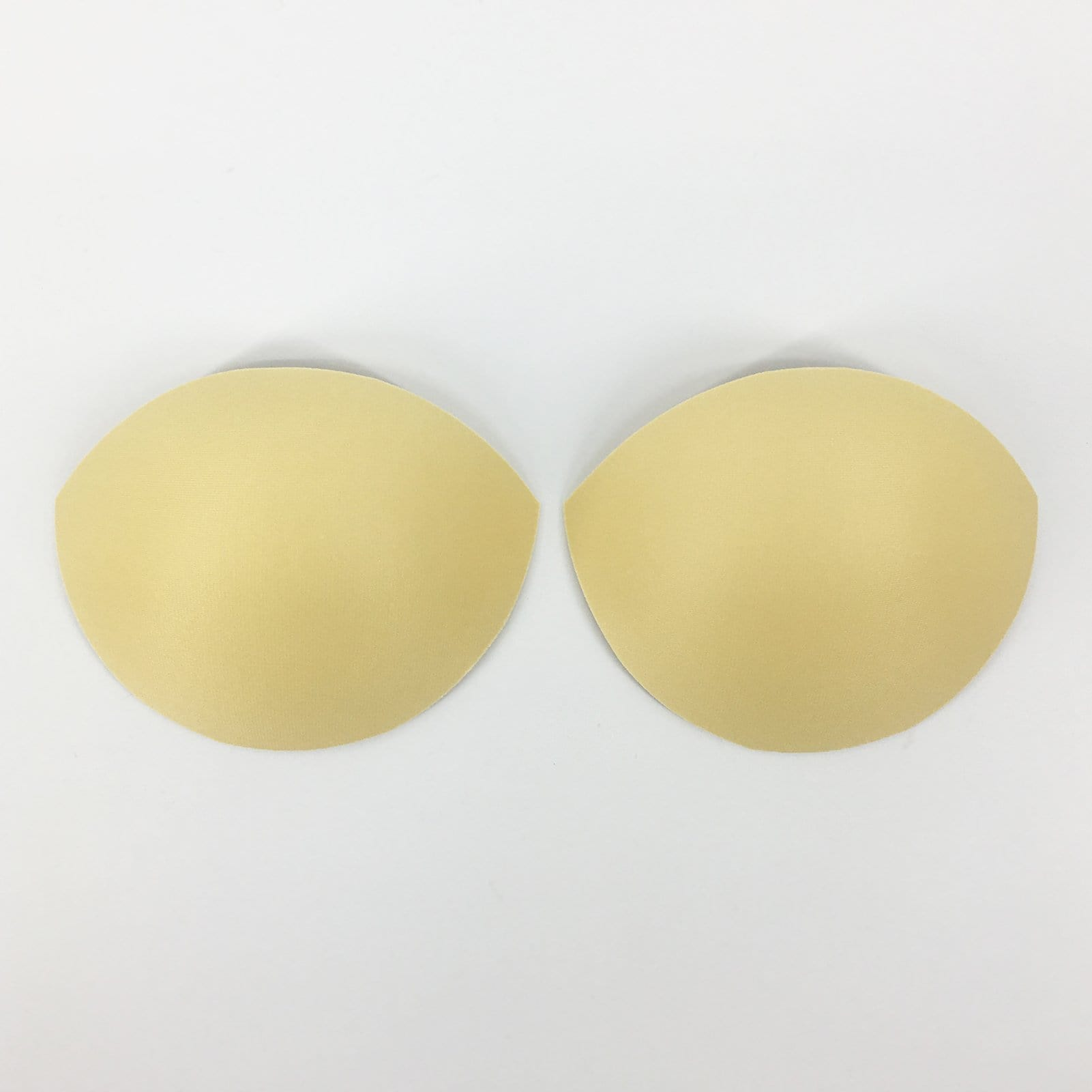 Half-Cup Push-Up Bra Paddings Inserts In Beige - FUNFIT