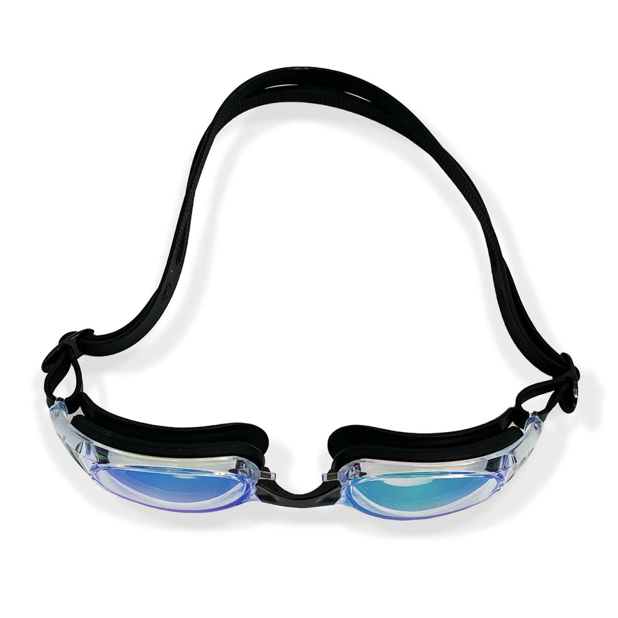 RAINBOW WIDE FRAME GOGGLES (BLACK)