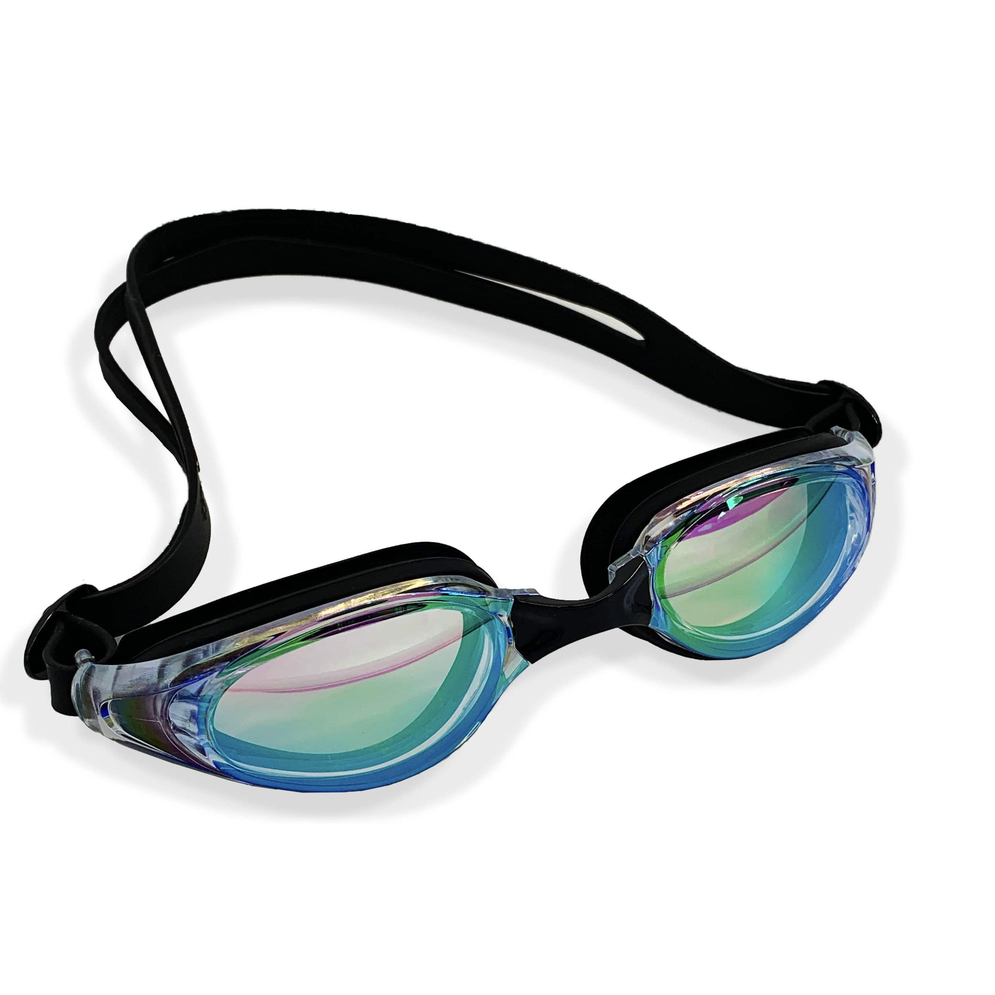RAINBOW WIDE FRAME GOGGLES (BLACK) - FUNFIT