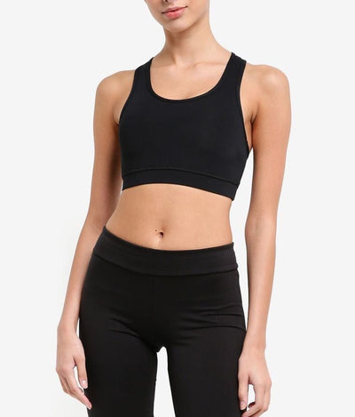 All Day Support Sports Bra in Black (S - 3XL) - FUNFIT