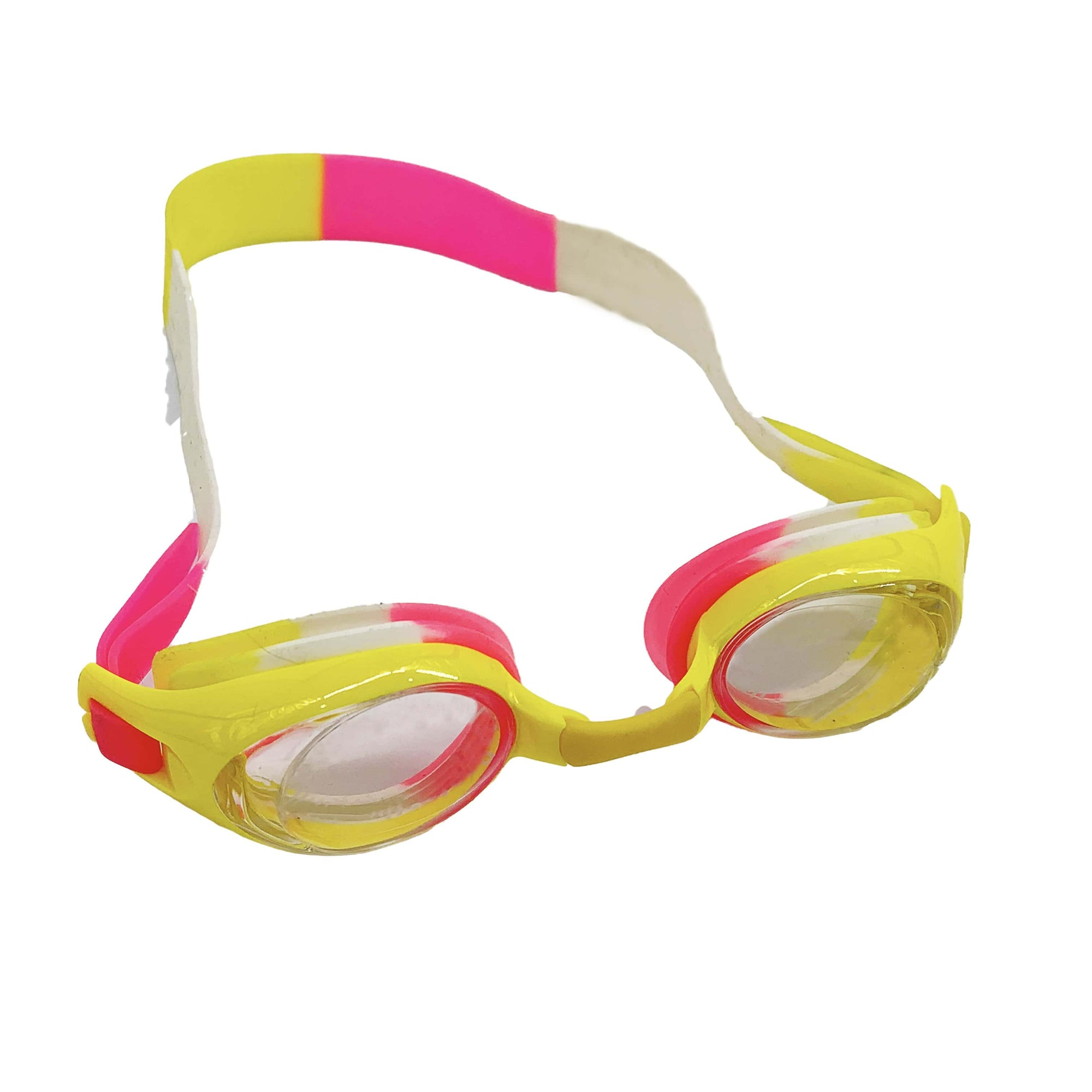 STANDARD  FRAME JUNIOR GOGGLES  (YELLOW) - FUNFIT