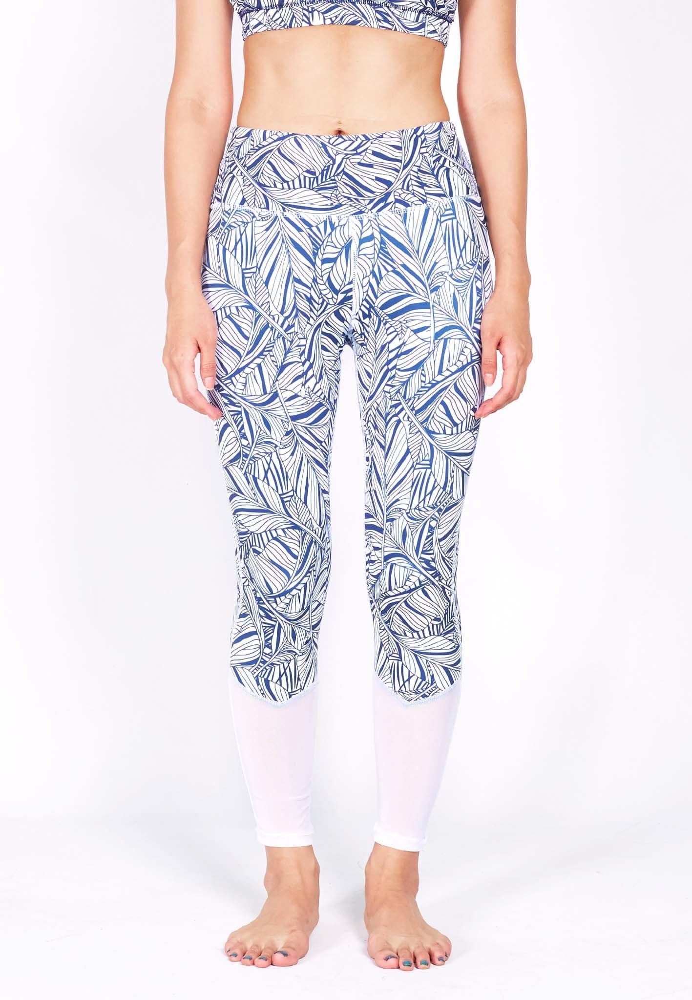 HYPE Blocking Leggings (with Keeperband®) in Mesh/ Liberty Print(S - 3XL) - FUNFIT