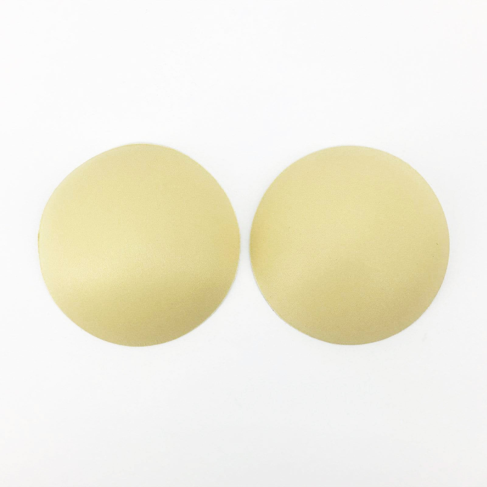 Circular Bra Paddings Inserts In Beige