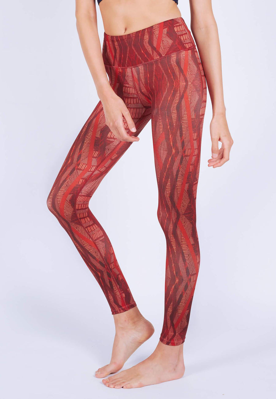 INTENSITY Leggings (with Keeperband®) in Aeneas Print (XS - 2XL) - FUNFIT