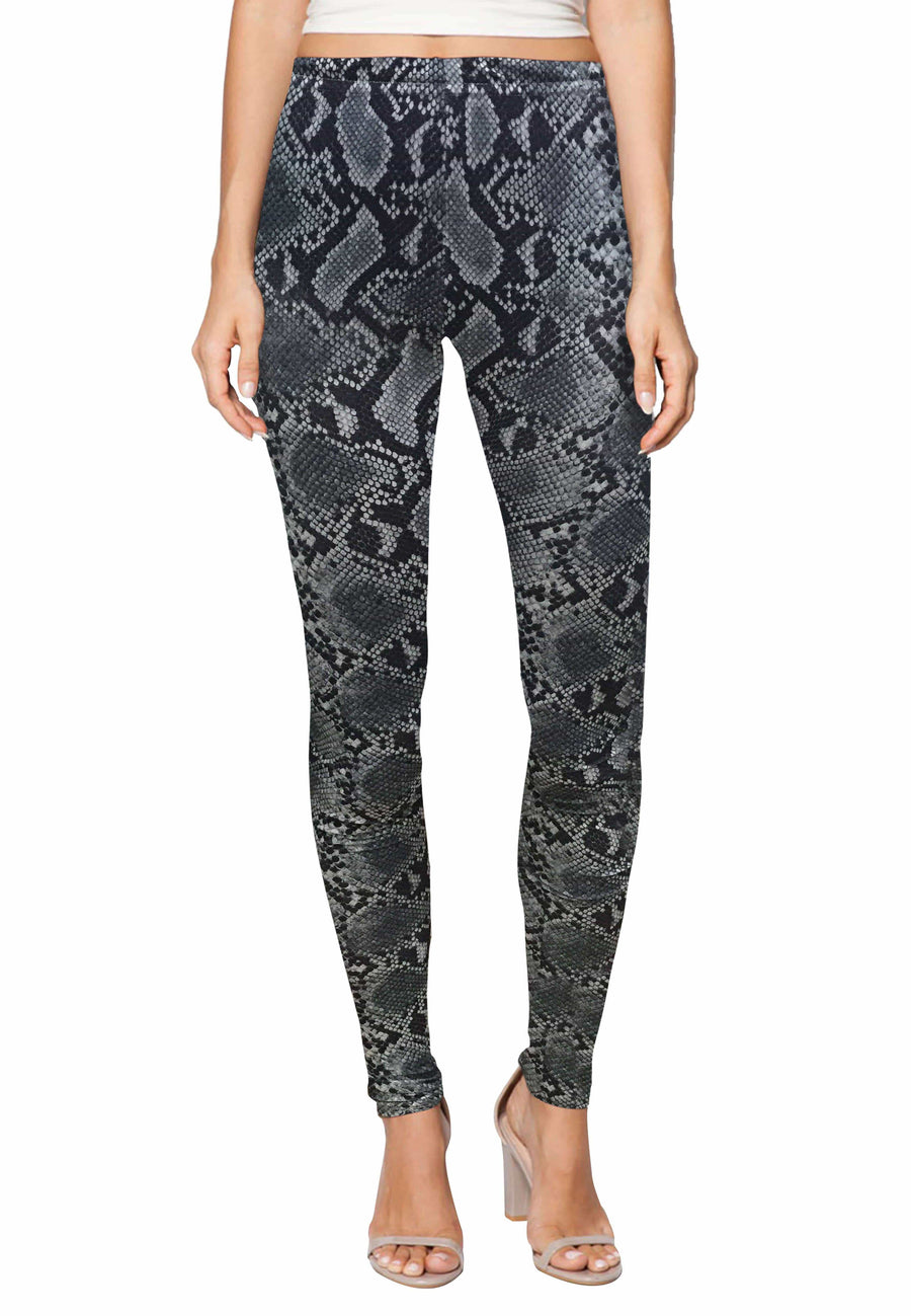 Stretch Leggings in Wild Danskin Print (Free Size) - FUNFIT