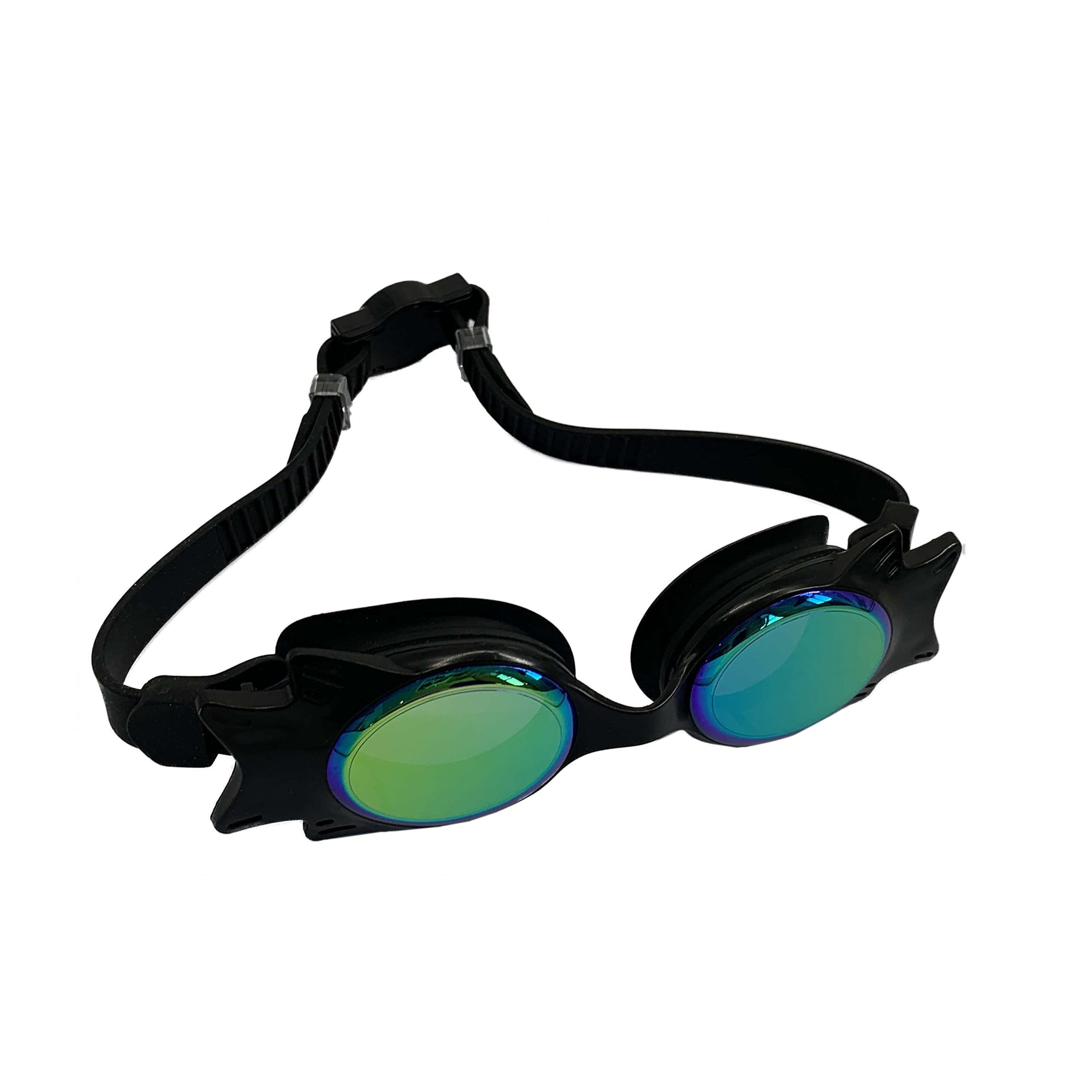 TINTED WING FRAME JUNIOR GOGGLES  (BLACK) - FUNFIT