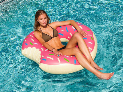 Donut Pool Float (Giant) 120cm - FUNFIT