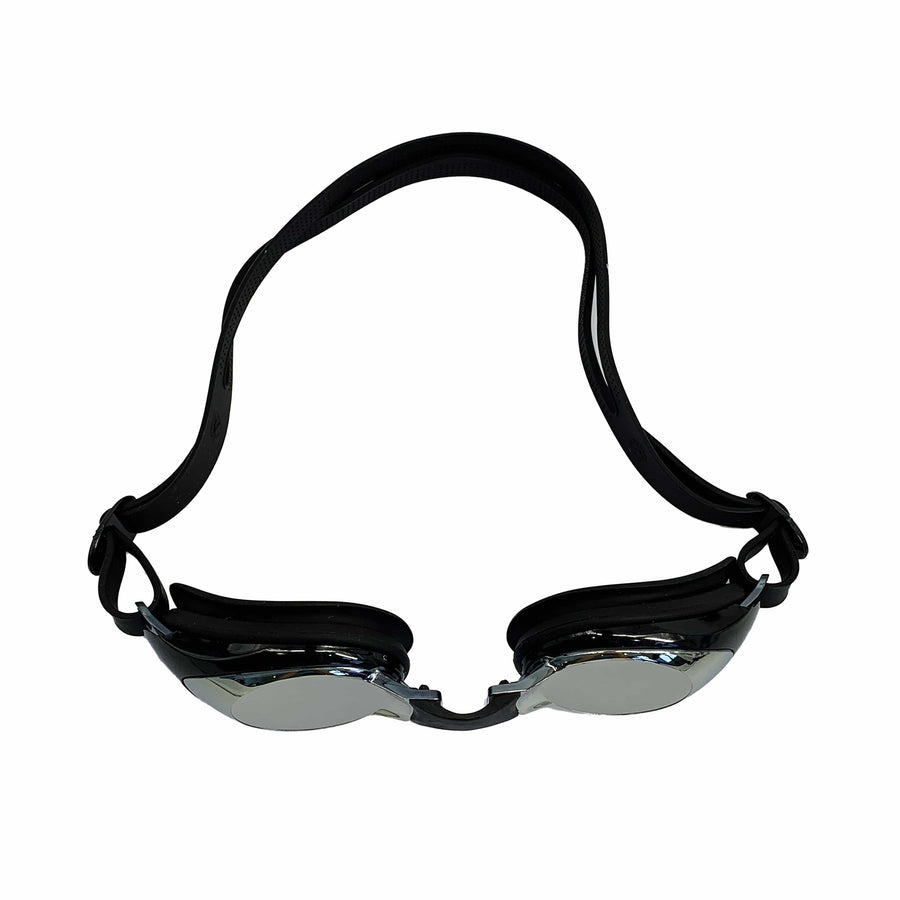 DARK-TINTED  SMALL ROUND FRAME GOGGLES (BLACK)