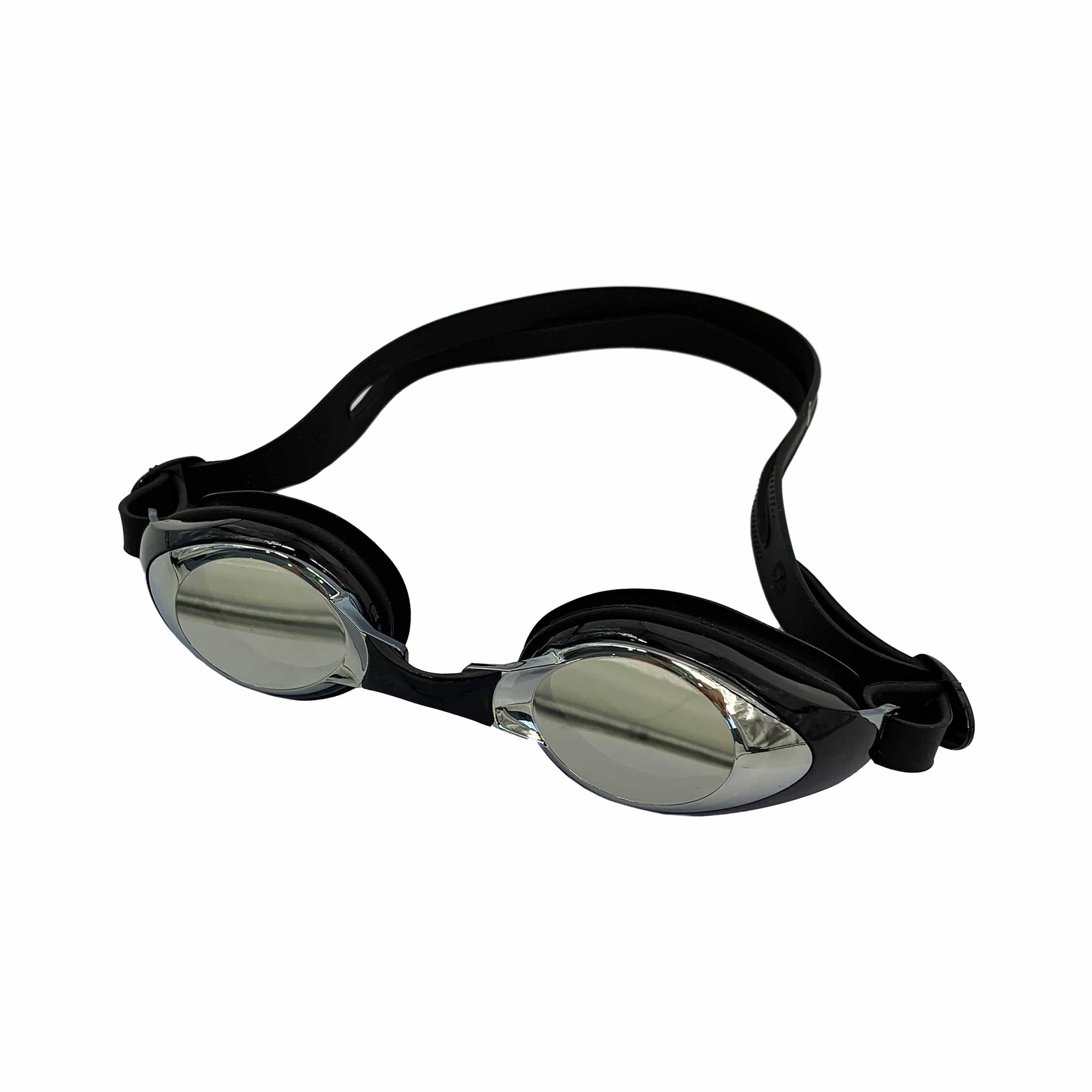 FUNFIT DARK-TINTED  SMALL ROUND FRAME GOGGLES (BLACK)