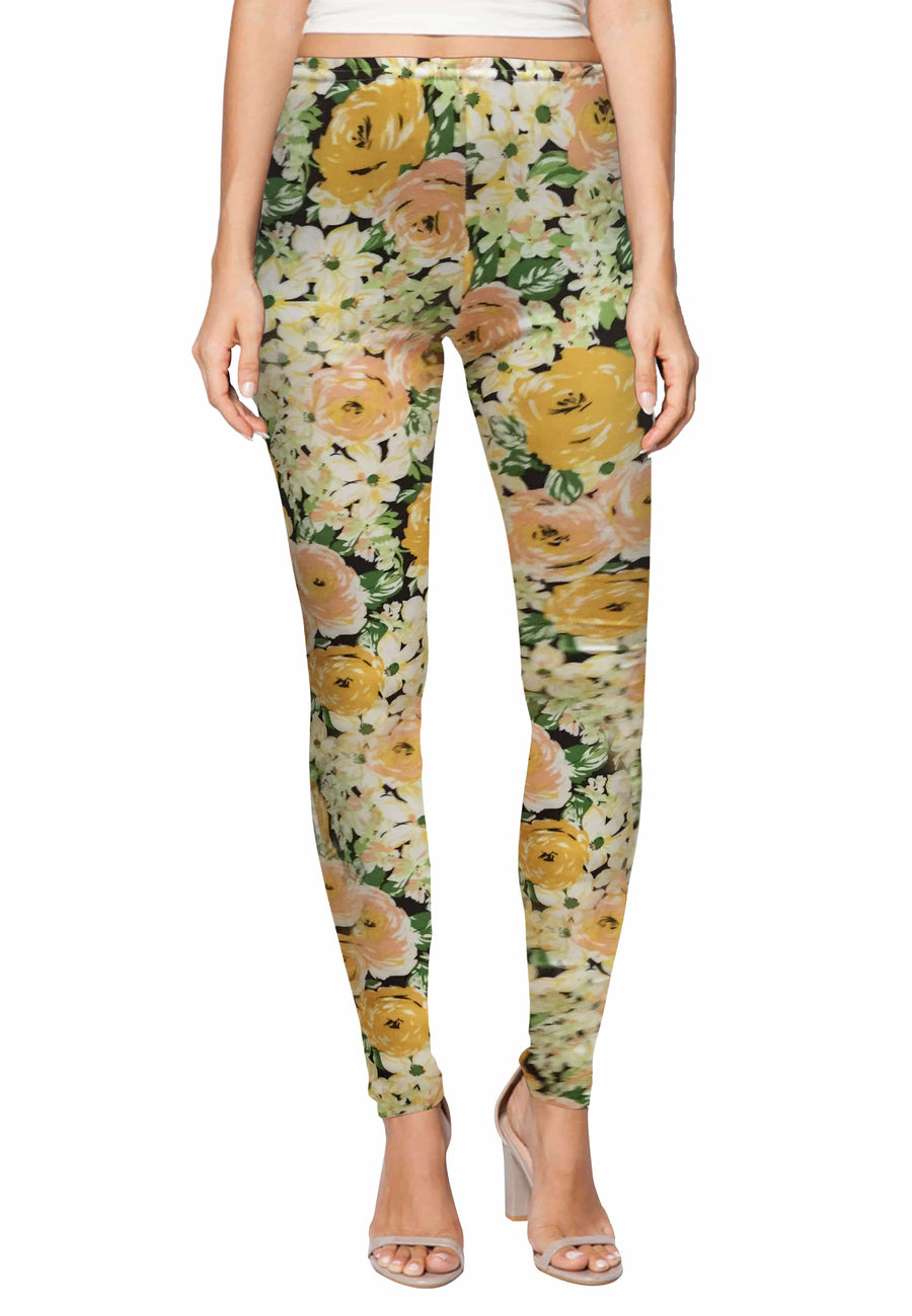 Stretch Leggings in Ellyllon Print (Free Size) - FUNFIT