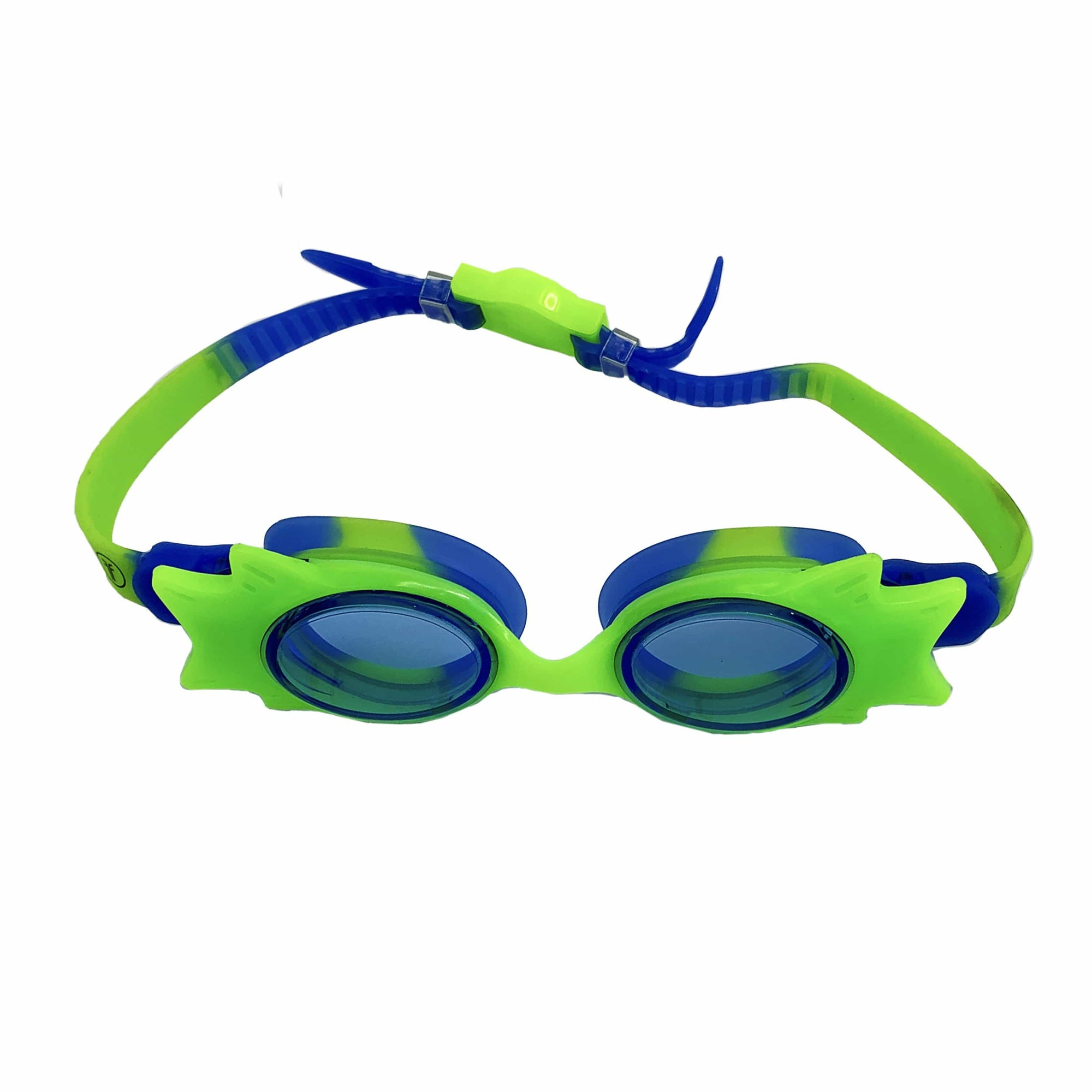 STANDARD WING FRAME JUNIOR GOGGLES (GREEN/BLUE) - FUNFIT