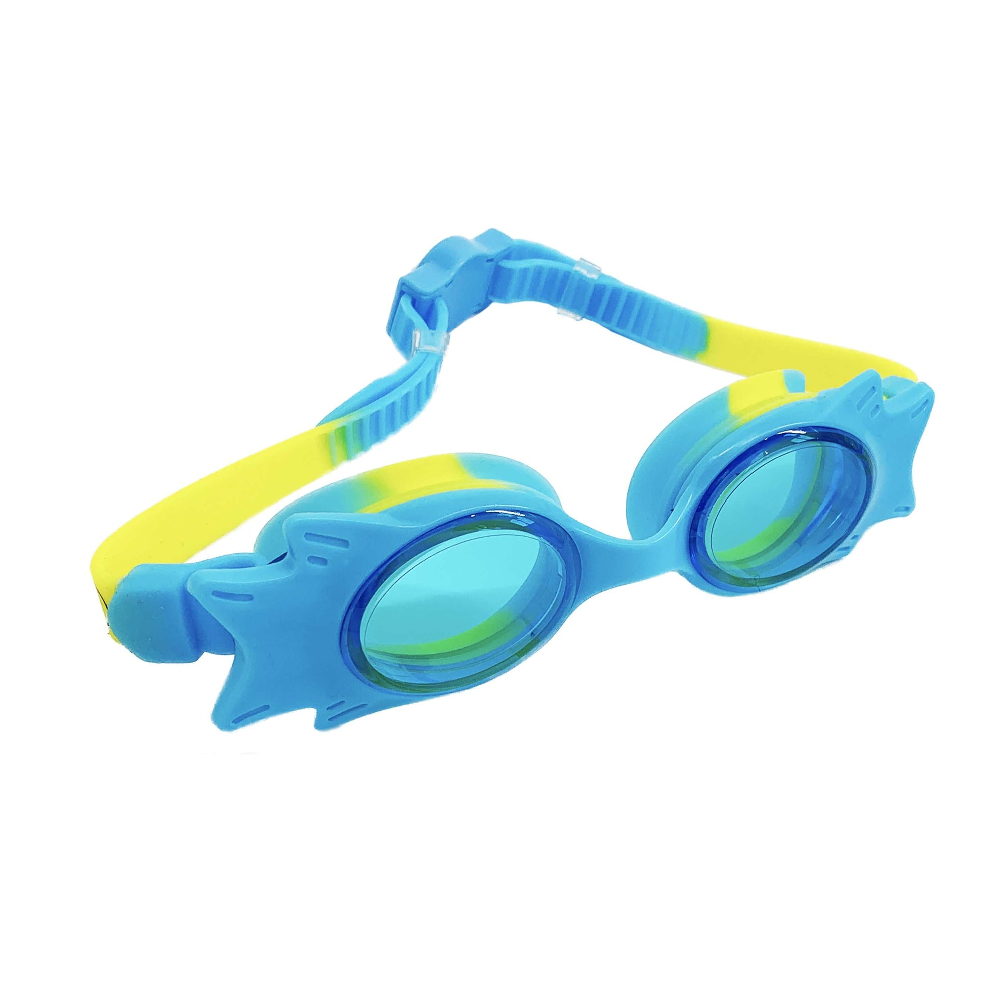 STANDARD WING FRAME JUNIOR GOGGLES  (TURQ/YEL) - FUNFIT