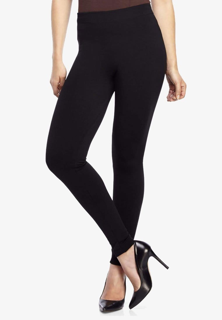 Thermal Tights in Black (Footless)