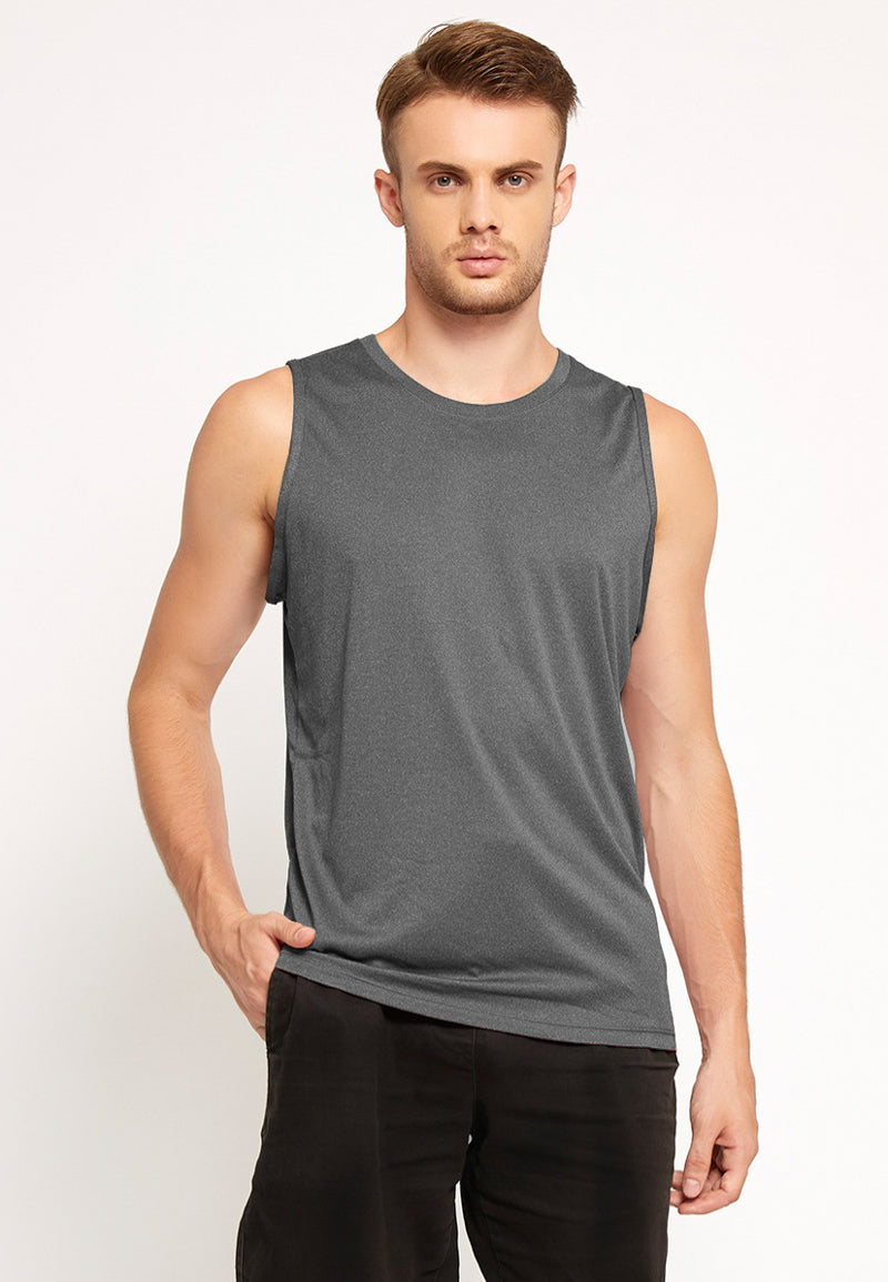 Agile Tank Top in Heather Grey (S - 2XL)