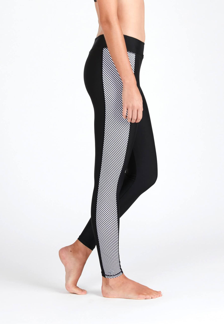 Swim Tights in Striped Print - FUNFIT