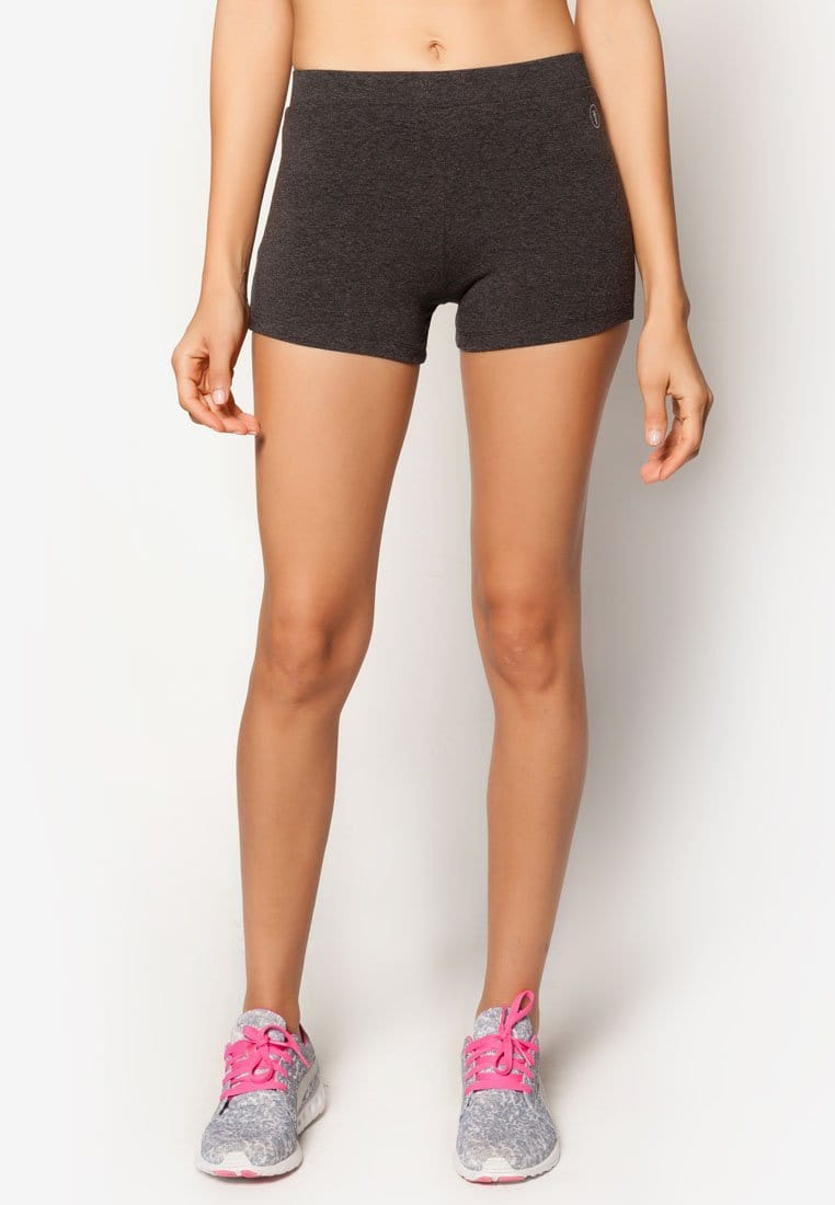 Basic Mini Shorts in Heather Grey (S - 3XL)