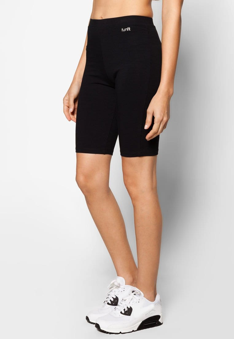 FUNFIT Basic Bike Shorts in Black (S - 3XL)