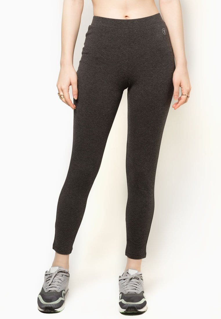 Basic Tapered Leggings in Grey (S - 2XL)