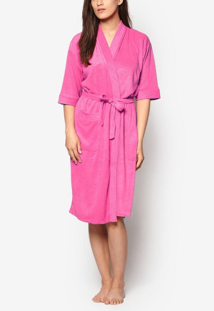 Swim Robe (Hot Pink) | Free Size