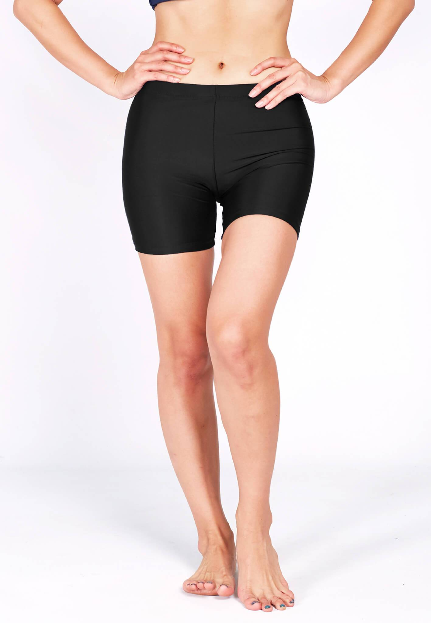 Basic Bike Shorts (Back Logo) in Black (XS - XL) - FUNFIT