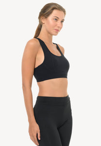 Contour Sports Bra in Black  (S - 3XL)