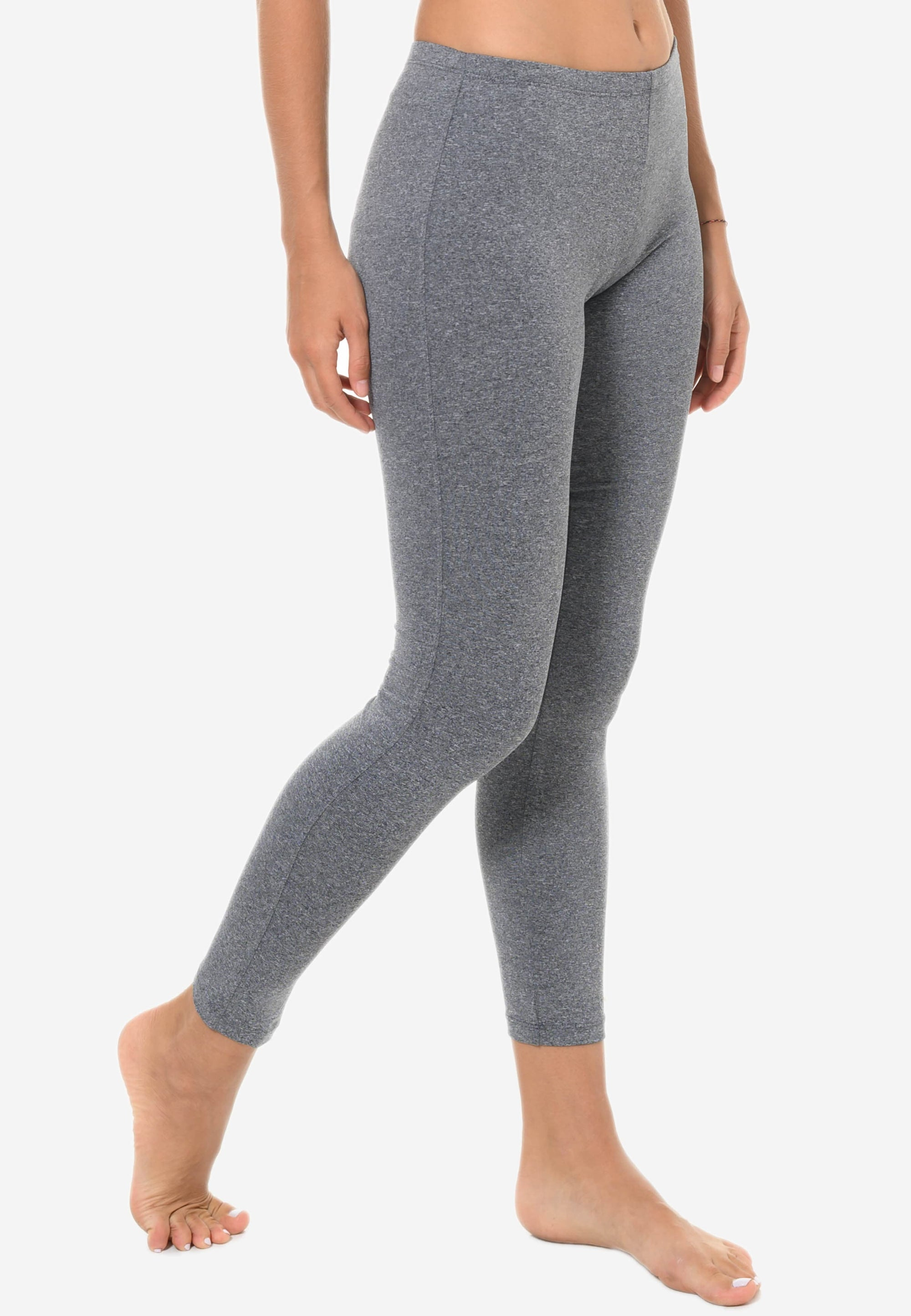 FUNFIT Basic Leggings in Heather Grey (S - XL)