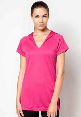 FUNFIT Active Core Studio Shirt in Hot Pink (S - 2XL)