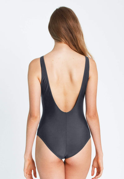 """A Girl Has No Name"" Swimsuit in Grey - FUNFIT"