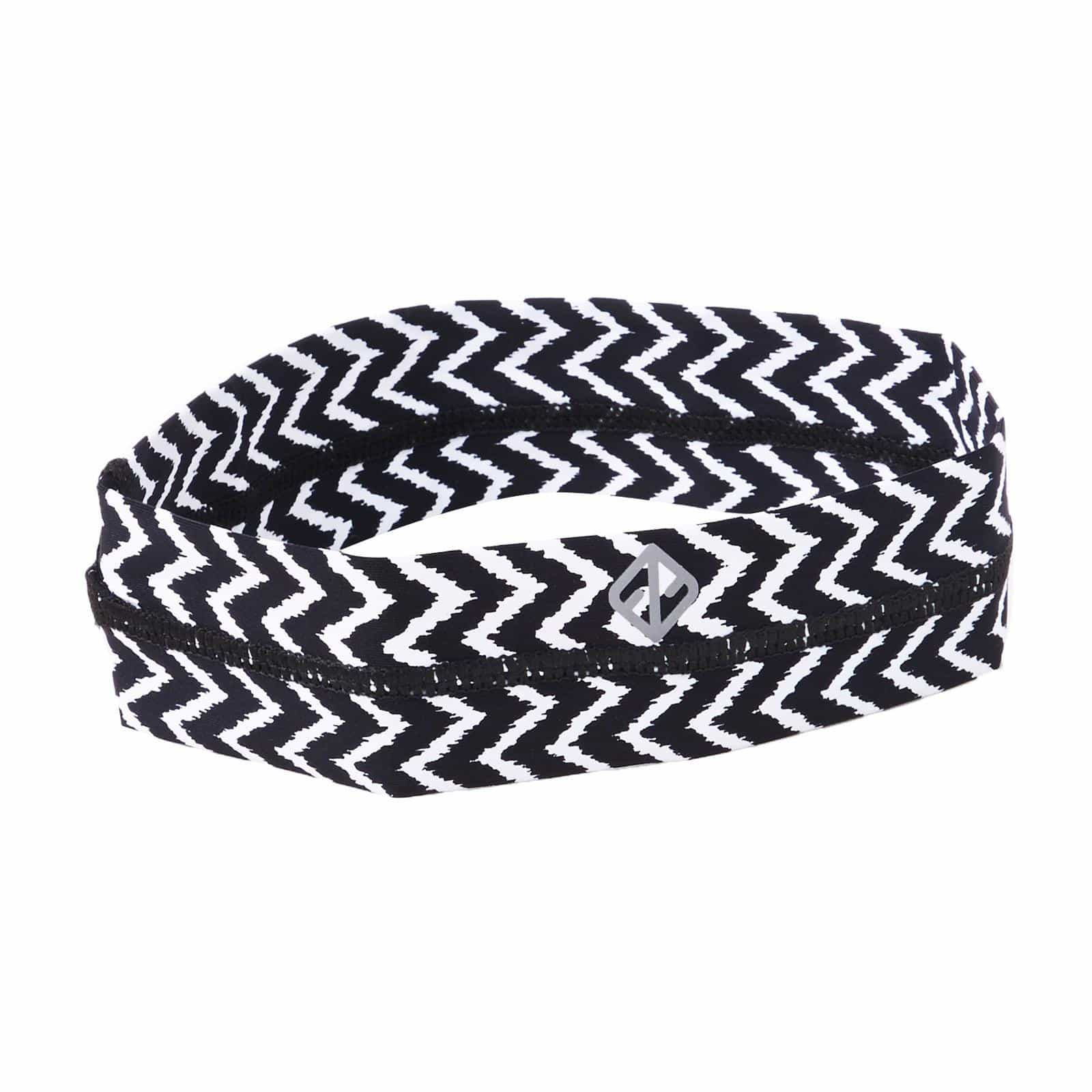 Headband In Chevron Print