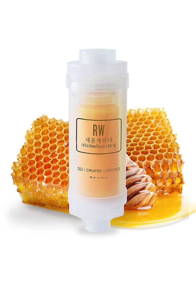 REFRESH COLLAGEN MILK SHOWER FILTER (HONEY)