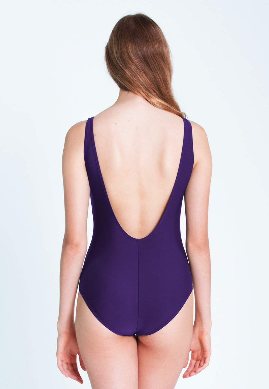 """Always Hungry"" Swimsuit in Purple (XS - L)"