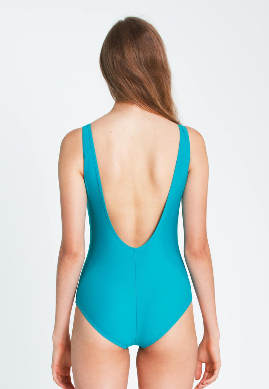 """Always Hungry"" Swimsuit in Turquoise (XS - L)"