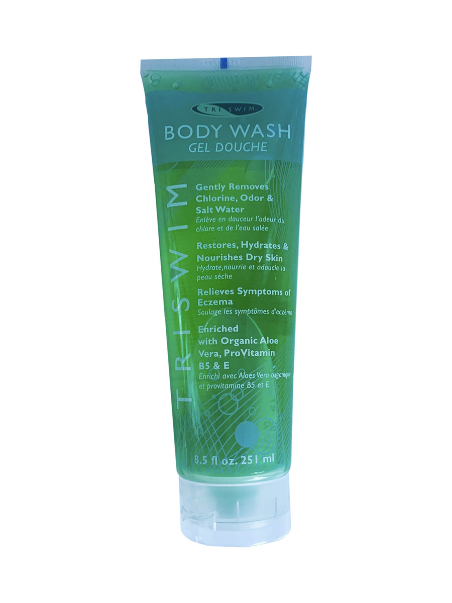 TRISWIM Anti-Chlorine Swimmers' Body Wash 8.5oz / 251ml