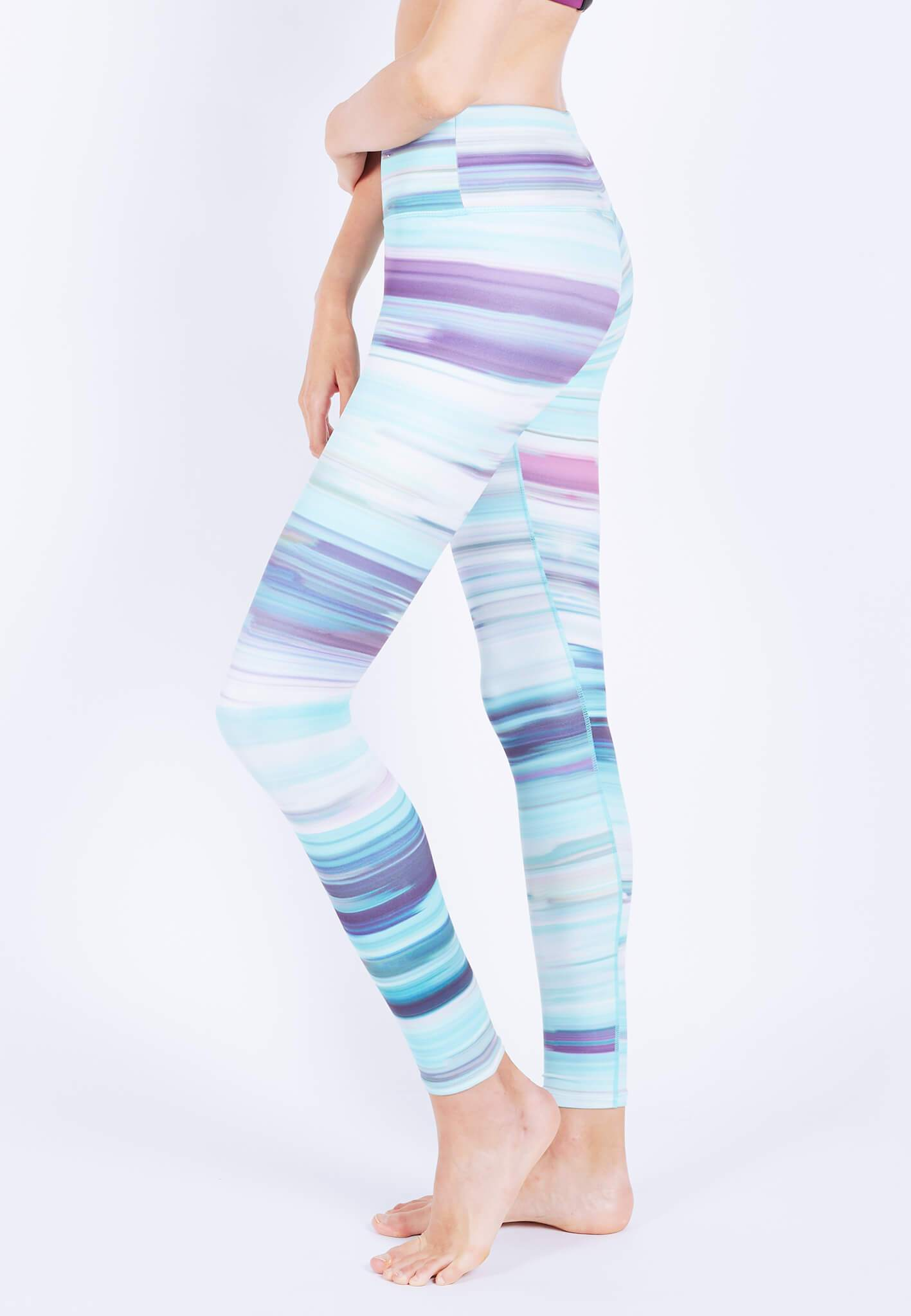INTENSITY Leggings (with Keeperband®) in Iridescence Print (XS - 2XL) - FUNFIT