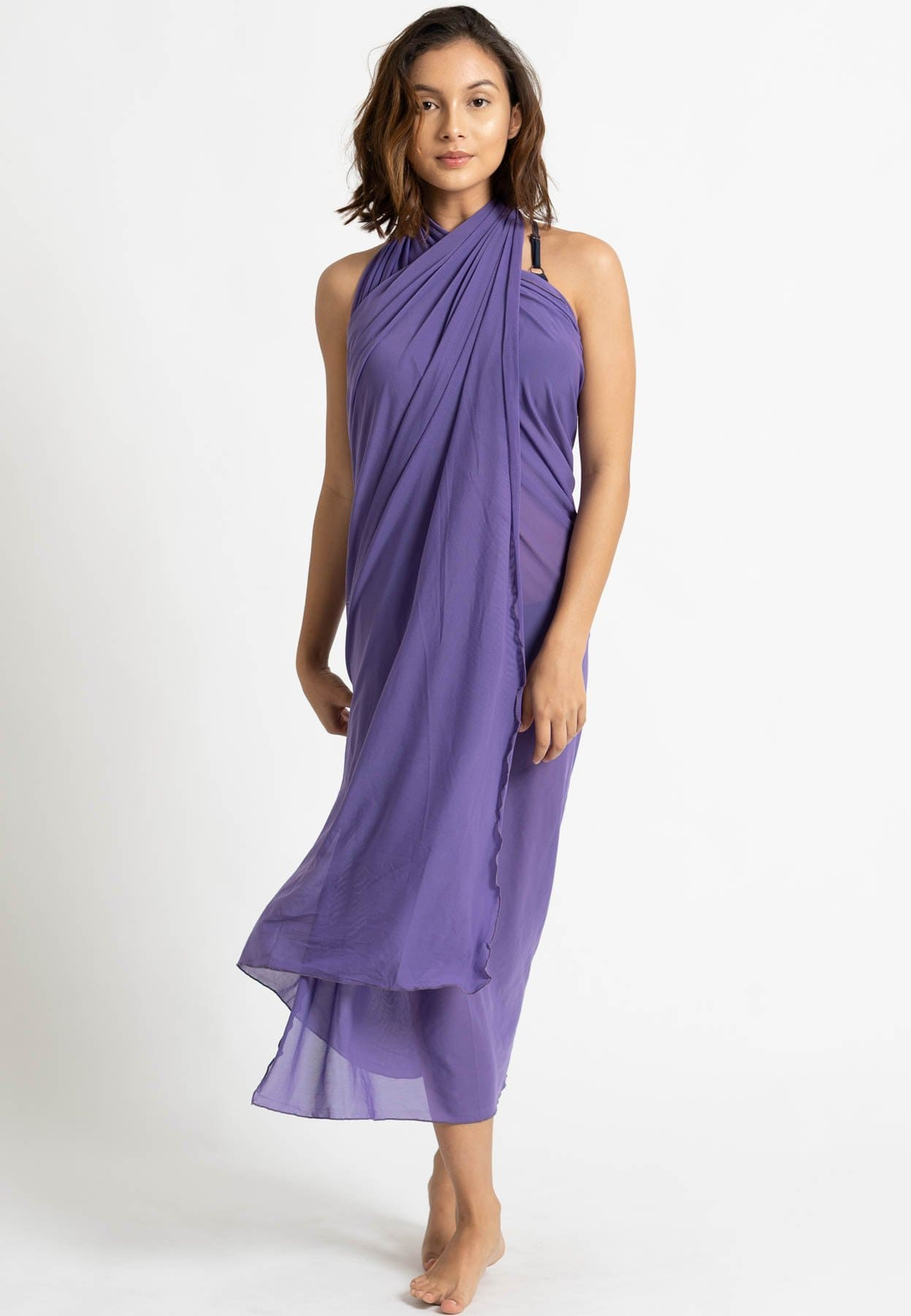 Classic Pareo (Royal Purple)