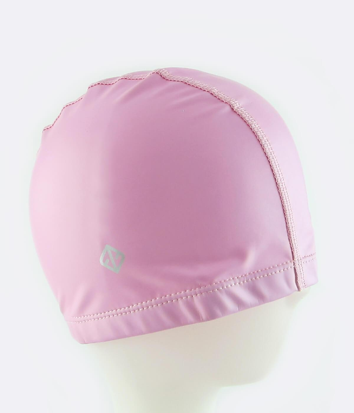 PU Coated Swimming Cap in Light Pink - FUNFIT