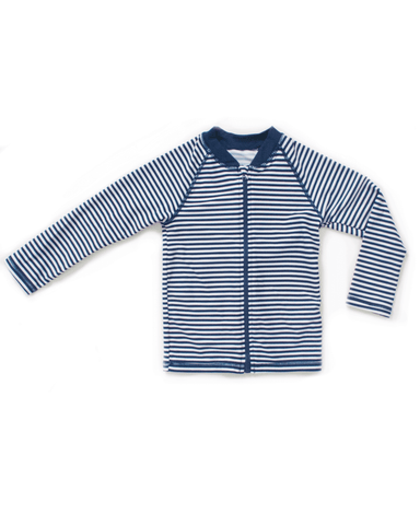 UPF50+ Junior Rash Top (Unisex) in Stripes-FUNFIT