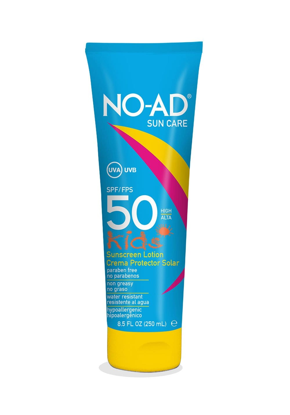 NO-AD KIDS LOTION SPF 50 250ML