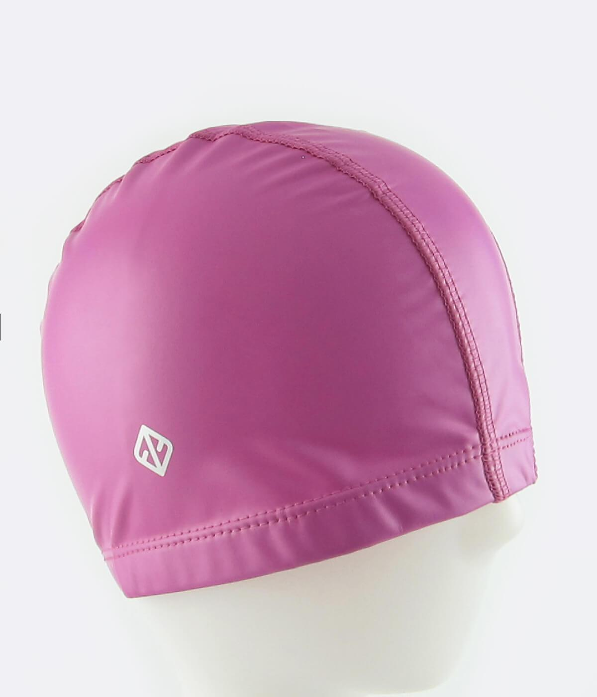 FUNFIT PU Coated Swimming Cap in Phlox Rose