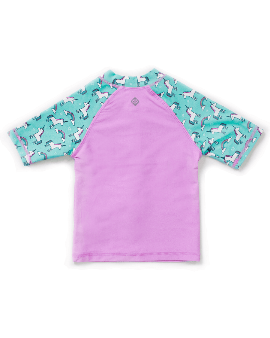 UPF50+ Junior Sunvest (Unisex) in Candy/ Unicorn - FUNFIT