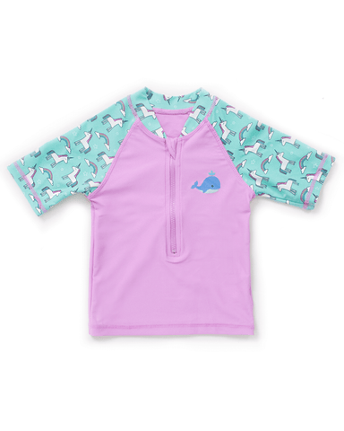 UPF50+ Junior Sunvest (Unisex) in Candy/ Unicorn-FUNFIT